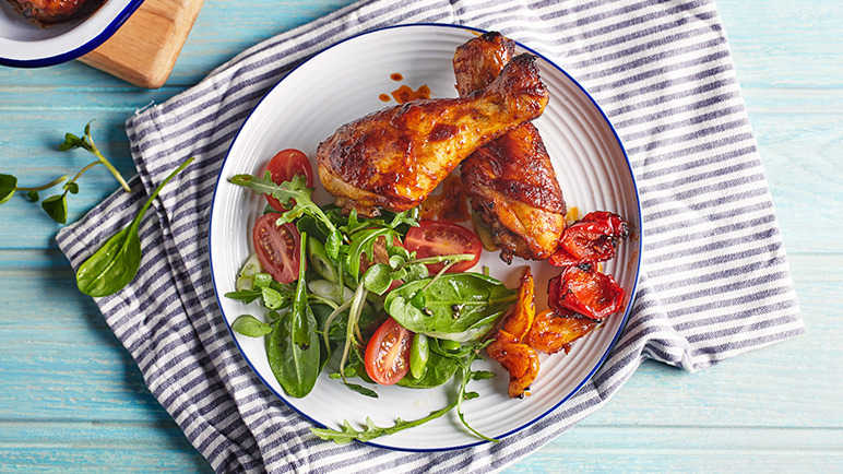 Image: Paprika chicken drumsticks