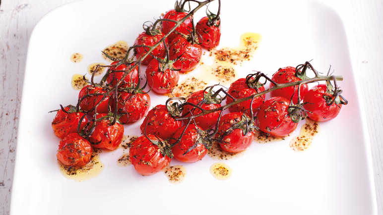 Image: Roasted Sundream plum vine tomatoes