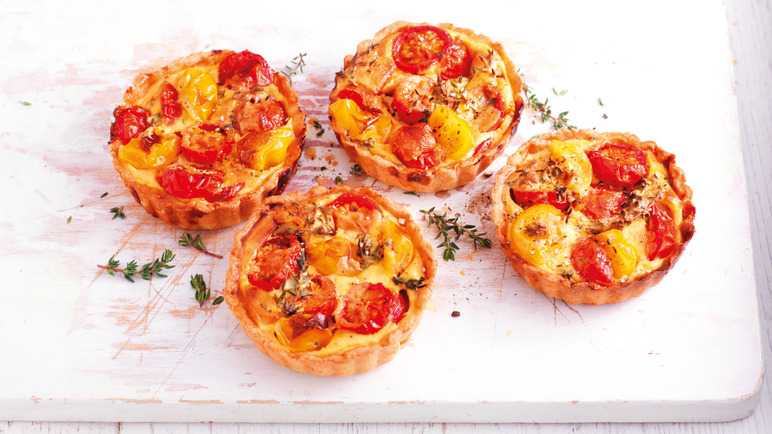 Image: Best of British tomato tarts