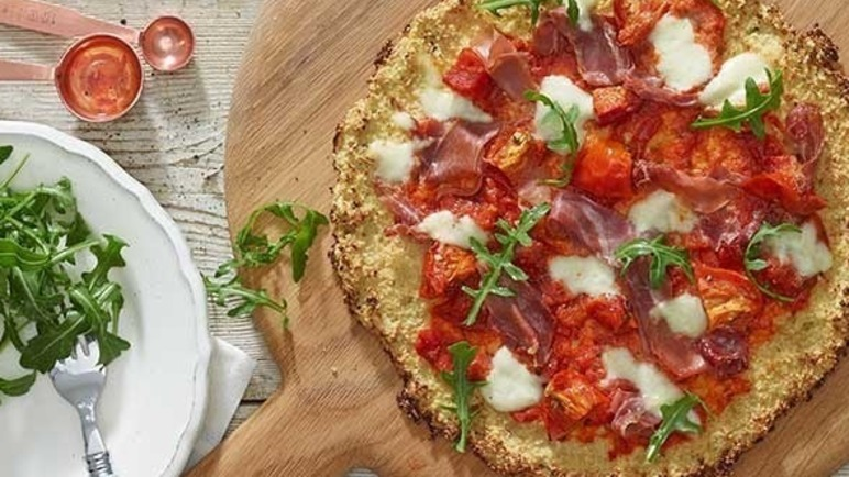 Image: Clever cauliflower pizza