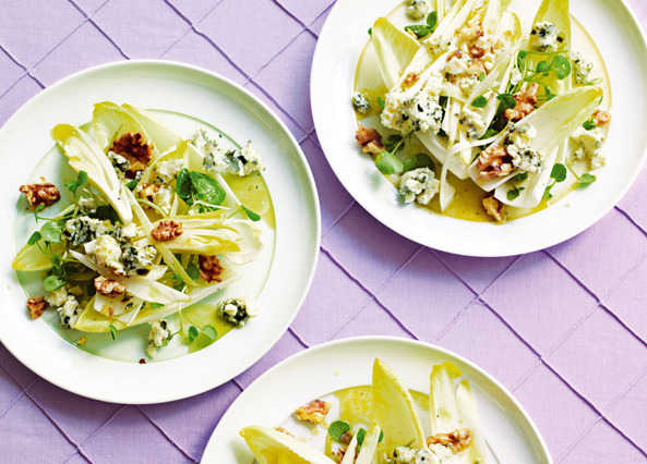 Chicory, watercress & roquefort salad image