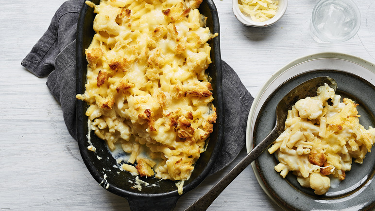 Image: Cauliflower macaroni cheese