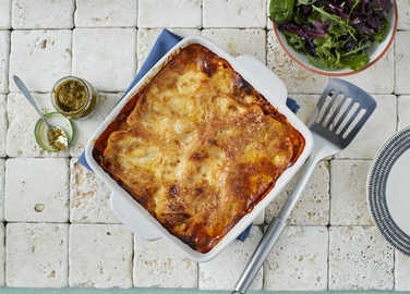 Video: Lasagne with a pesto twist