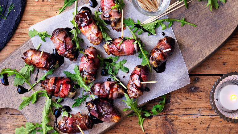 Image: Devils on horseback