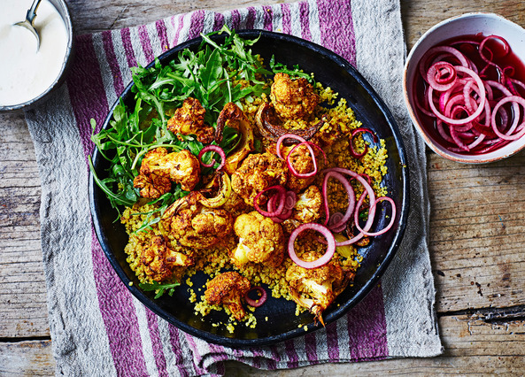 Image: Tandoori cauliflower and quinoa bowl