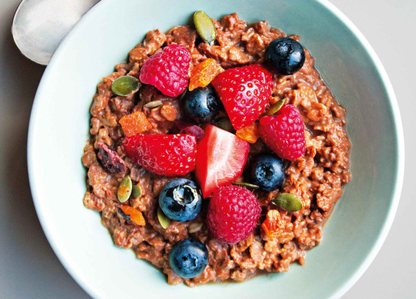 Image: Chocolate orange porridge
