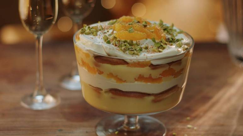 It's trifle time and we've added bubbles to your Christmas pud. You're welcome!