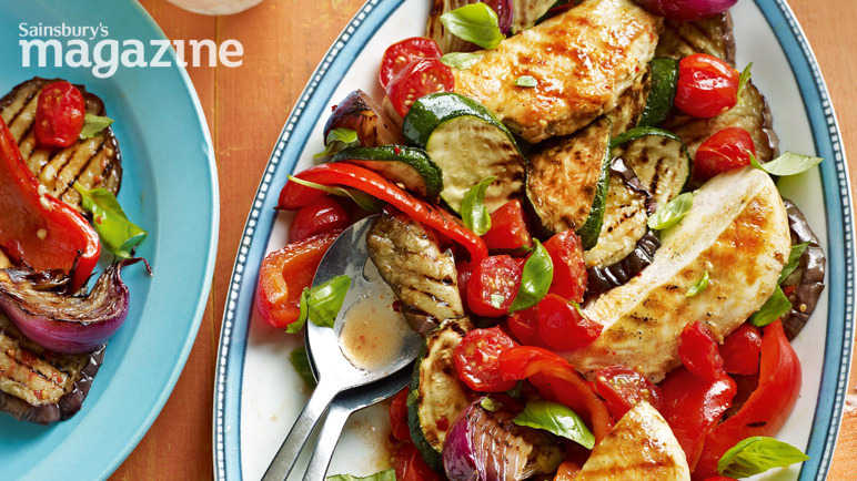 Ratatouille chicken image