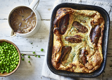 Image: Venison toad in the hole