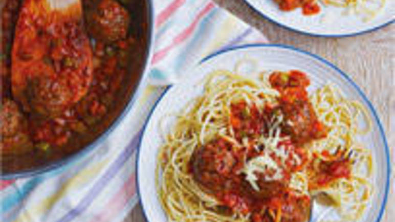 Large image for Beef meatballs recipe on Sainsbury's Online