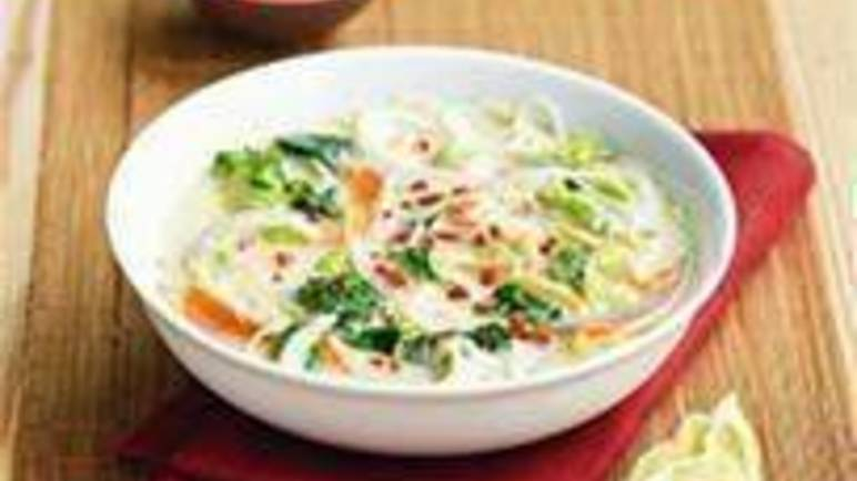 Large image for Sainsbury's Thai green noodle soup recipe