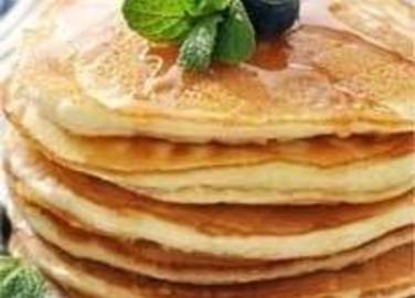 Large image for blueberry pancakes recipe.