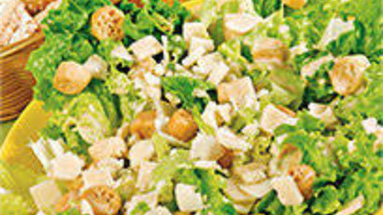 Large recipe image for Italian Cesar salad recipe on Sainsbury's Online