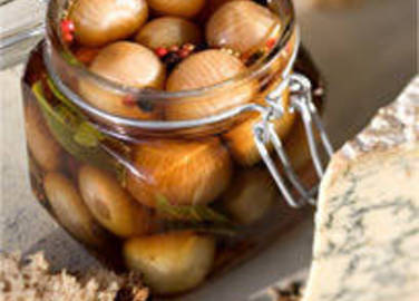 Large image for Pickled shallots with spices and bay recipe on Sainsbury's Online