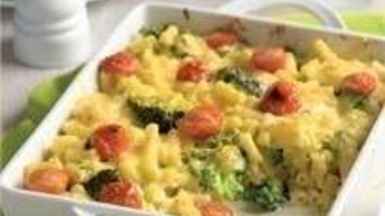 Large image for Veggie macaroni cheese recipe on Sainsbury's online