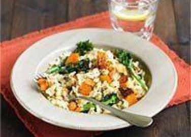 Large image for Sainsbury's Butternut squash and sage risotto recipe