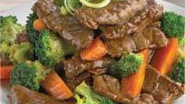 Large image for broccoli beef in oyster sauce recipe.