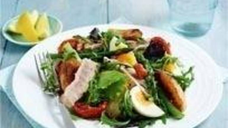 Large image for Tuna steak niçoise salad recipe on Sainsbury's Online