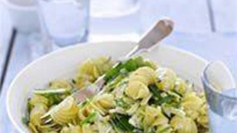 Large image for Sainsbury's Fusilli pasta and summer greens salad recipe