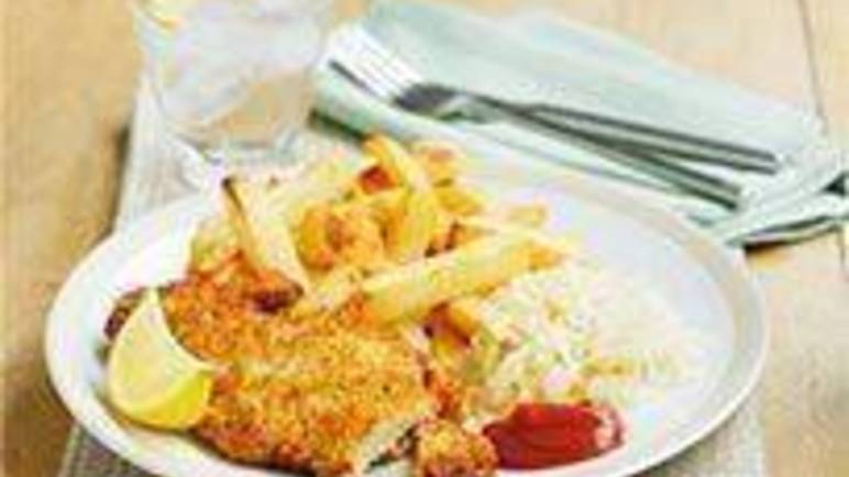 Large image for Sainsbury's Lemon pork schnitzel recipe