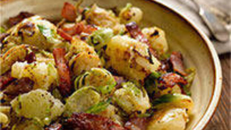 Large image for Sprout and potato crush recipe on Sainsbury's Online