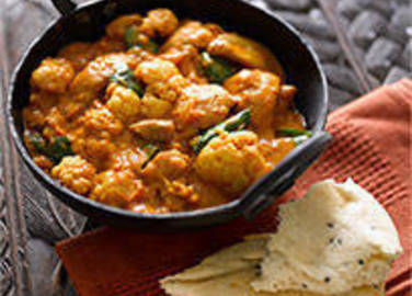 Large image for Cauliflower and chicken curry recipe on Sainsbury's Online