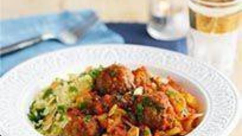 Large image for Sainsbury's Moroccan meatballs recipe