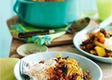 Large image for Sainsbury's Cheat's Indian vegetable curry recipe