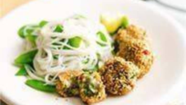 Large image for Sainsbury's Crispy pollock and chive bites recipe