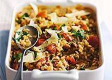 Large image for Sainsbury's Lazy but lovely risotto recipe