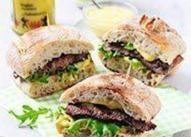 Large image for Sainsbury's The ultimate mini steak sandwich recipe