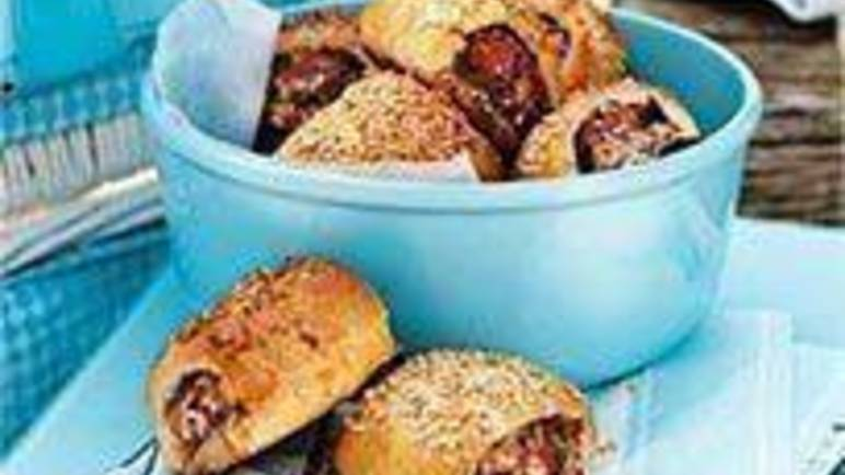 Large image for Sainsbury's Turkey sausage rolls recipe
