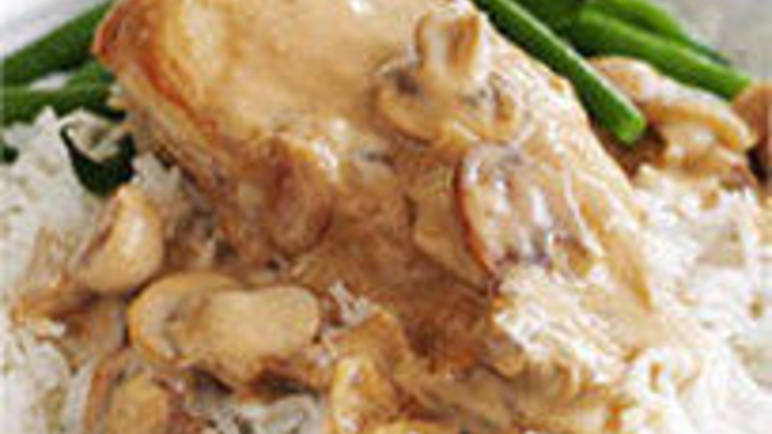 Large image for Sainsbury's Chicken in a creamy mushroom sauce recipe