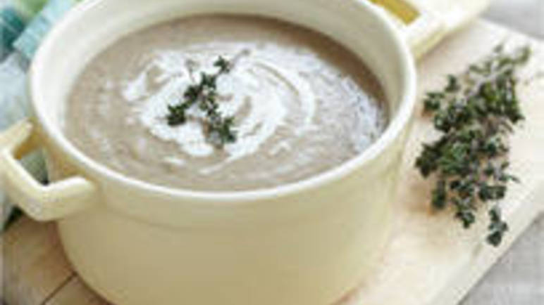 Large image for Cream of mushroom soup recipe on Sainsbury's Online