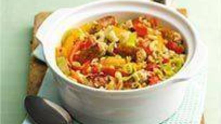 Large image for Sainsbury's Country veg and sausage stew recipe
