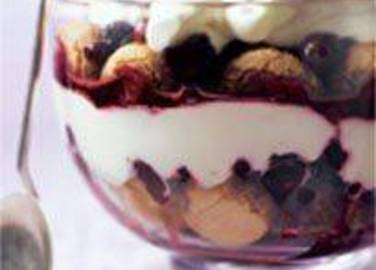 Large image for Sainsbury's Spiced berry trifle recipe