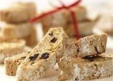 Large image for Christmas biscotti with lemon and mixed spice recipe on Sainsbury's Online