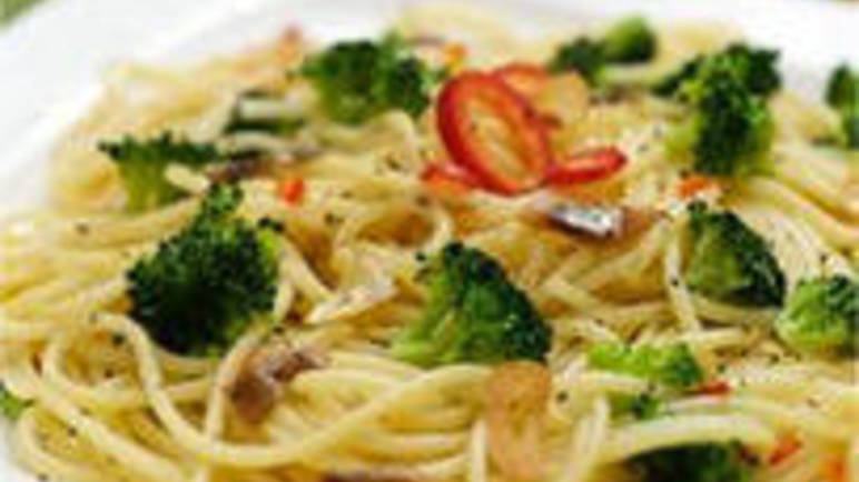 Large image for Garlicky Spaghetti with Broccoli and Anchovy from Sainsbury's online
