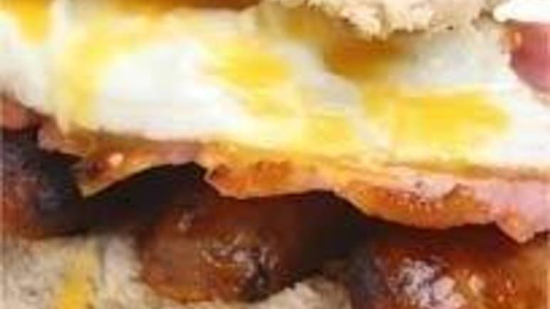 Large image for Ultimate Breakfast Sandwich recipe.