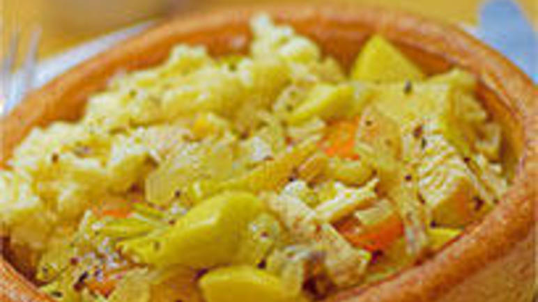 Large image for Aunt Bessie's leftover chicken casserole recipe on Sainsbury's Online