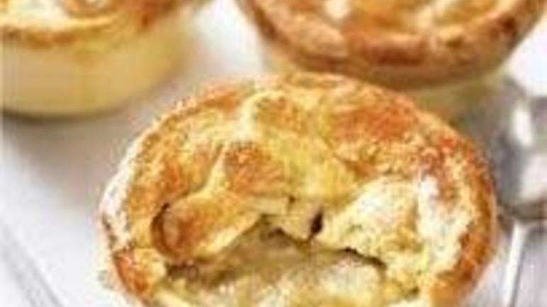Large image for Little coronation chicken pies recipe on Sainsbury's Online