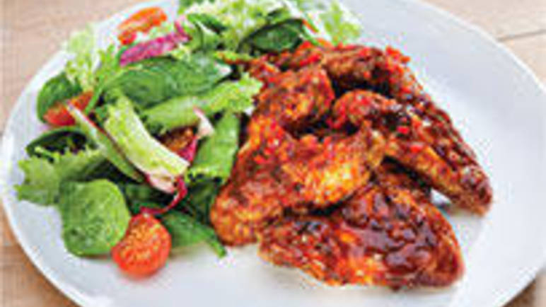 Large image for Saucy wings recipe on Sainsbury's Online