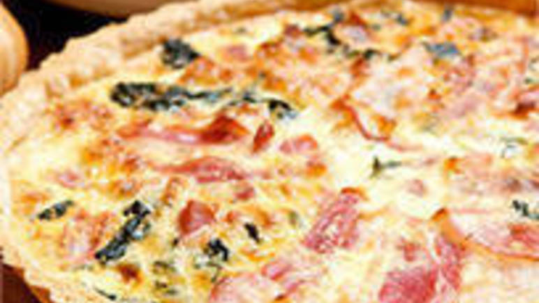 Large image for Cavolo nero and pancetta tart recipe on Sainsbury's Online