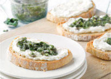 Large image for Herb sauce and Philadelphia on sourdough recipe on Sainsbury's Online