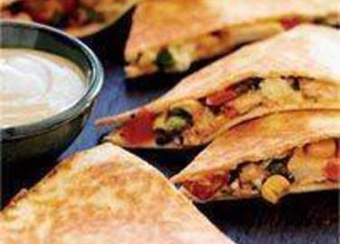 Large image for Sainsbury's Chicken quesadillas recipe