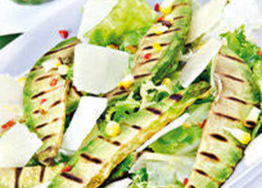 Grilled avocado salad