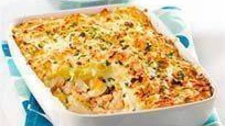 Large image for Sainsbury's Fish pie with goats' cheese recipe