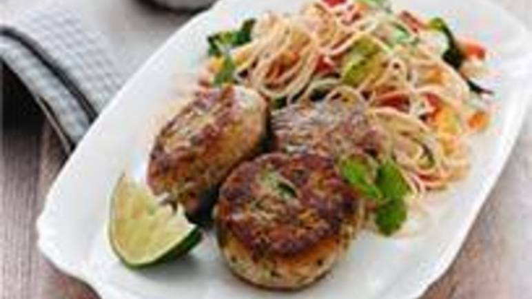 Large image for Sainsbury's Speedy Thai fishcakes recipe