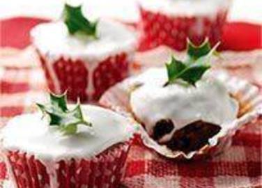 Large image for Sainsbury's Christmas fairy cakes recipe