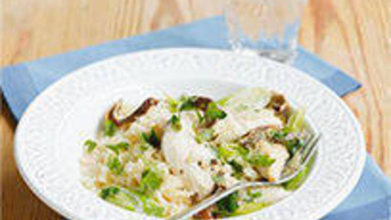 Large image for Sainsbury's Creamy chicken and leek stroganoff recipe